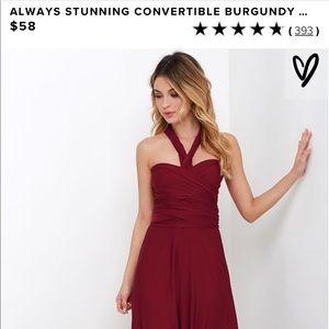 Lulu's Convertible Dress